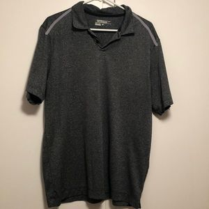 Grey Nike golf polo